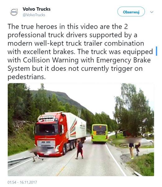 Twitt Volvo Trucks