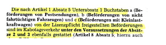 Fragment rozporządzenia Parlamentu Europejskiego