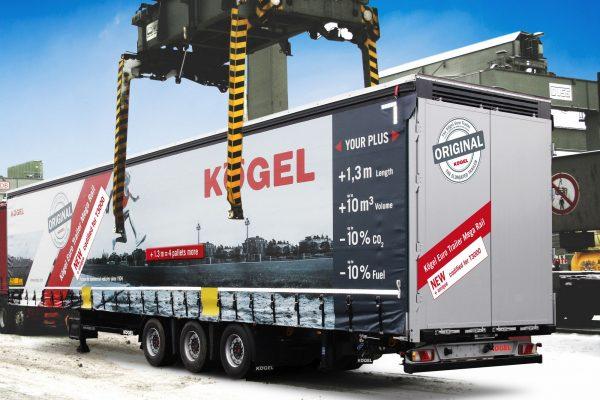 Naczepa Euro Trailer Mega Rail firmy Koegel