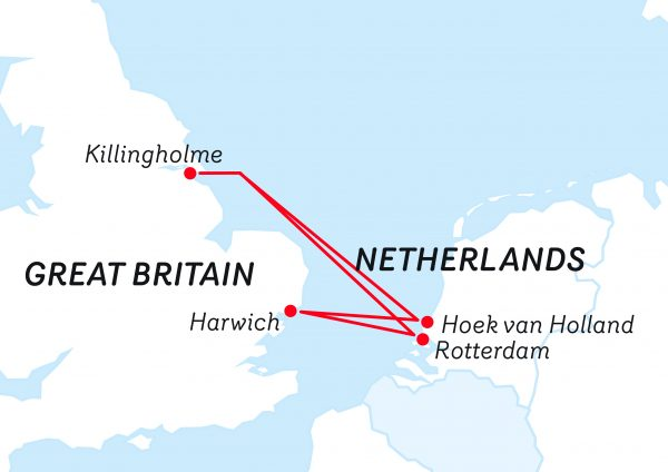 Stena Line; Holandia-Wielka Brytania
