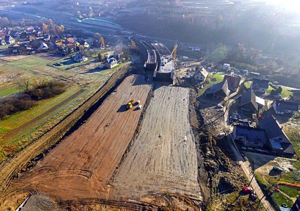 Budowa odcinka S7 - zakopianki
