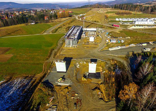 Budowa zakopianki - odcinek II