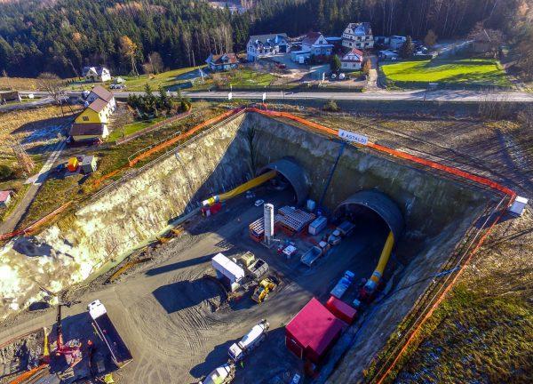 Budowa tuneli na zakopiance