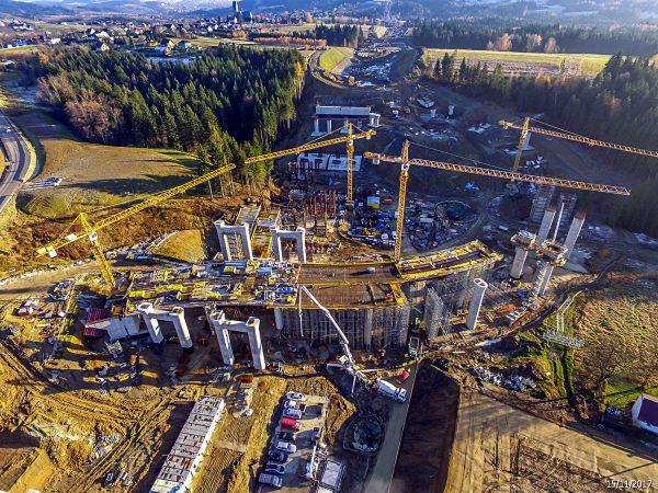 Budowa odcinka S7
