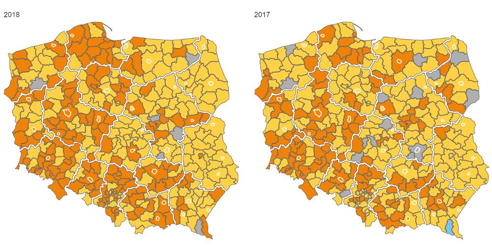 Deficyt kierowców ciężarówek w powiatach